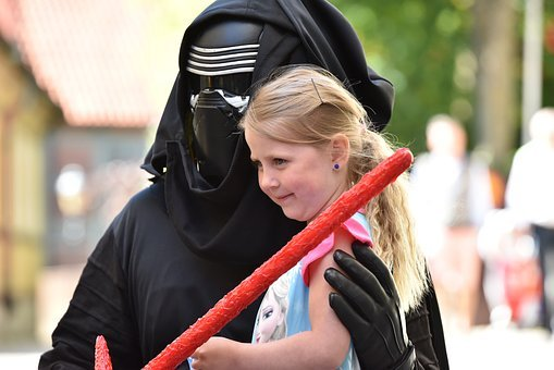 Joy, Smile, Children, Kylo Pure, Star Wars, Lightsaber