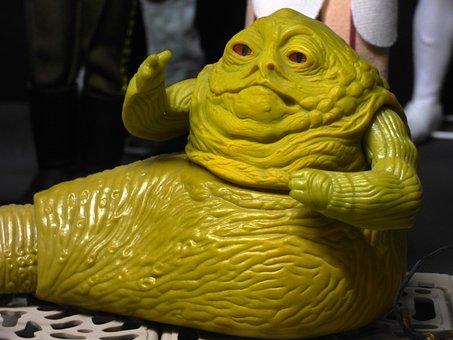 Jabba, Toy, Starwars, Star Wars, Video, Jabba The Hutt