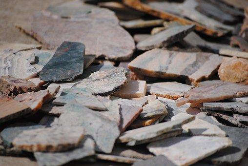 Rocks, Shards, Stone, Texture, Natural, Cracked, Nature