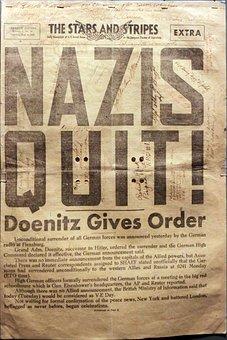 The Stars And Stripes Extra, Newspaper, Nazis, Ww2