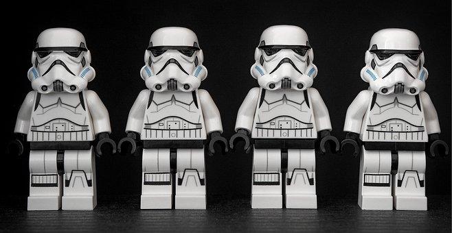 Stormtrooper, Star Wars, Lego, Storm, Trooper, Parade