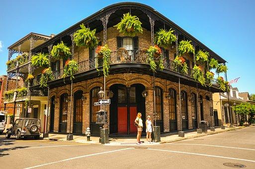 New Orleans, Louisiana, Usa, Southern States