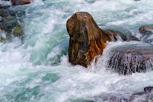 Verzasca, Water And Stone, Switzerland