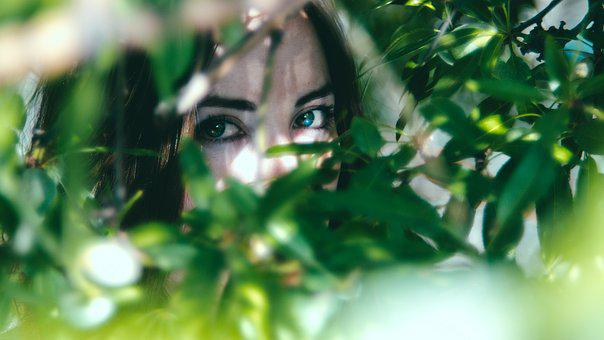 Woman, Nature, Eyes, Beauty, Female, Girl, Attractive