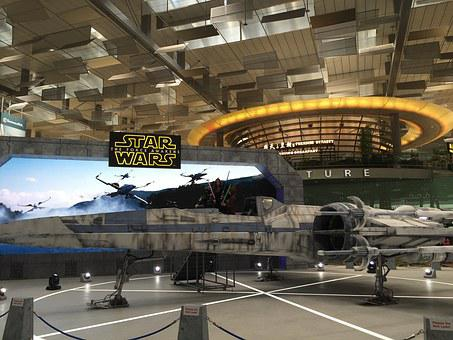 X Wing Fighter, Star Wars, Movies