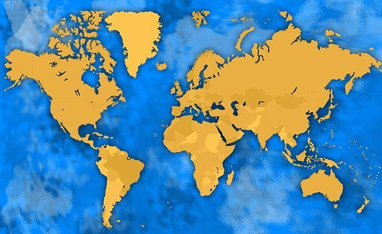 Africa, America, Antarctica, Art, Asia, Asia Map