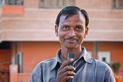 India, Asia, Man, Portrait, Sudra, Tourism, Travel