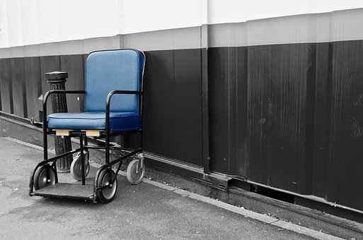 Chair, Wheelchair, Disability, Assistance, Symbol