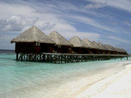Beach Bungalow, Romantic, Summer, Maldives