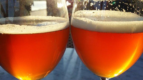 Beer, Beer Glass, Bowl, Foam, Alcohol