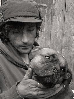 Mans Best Friend, Dog, Owner, Pet, Animal, Best, Friend