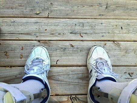 Disability, Braces, Disabled, Wood, Boards, Feet, Shoes