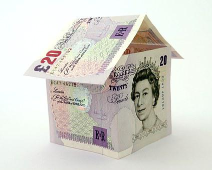 House, Bank, Banking, Bills, British, Building