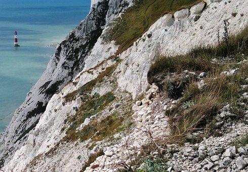 Seven Sisters, Cliffs, Chalk, National Park, Sussex