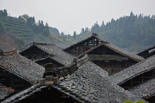 Houses, Roofs, Chinese, Traditional, Housing, Designs