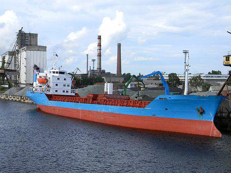 Dock, Port, Logistics, Container, Container Ship, Load