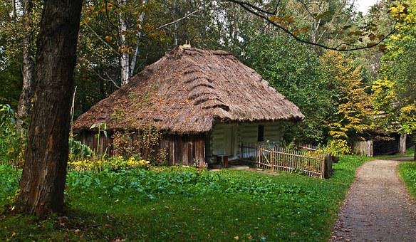 Cover With Straw, Poland, Malopolska, Cottage
