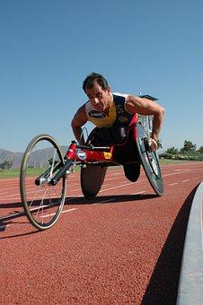 Man, Athletic, Disability, Sport Wheelchair, Handicap