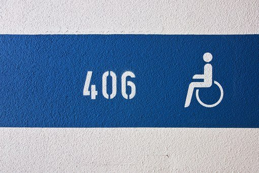 Disabled Parking Space, Parking, Disability, Disabled