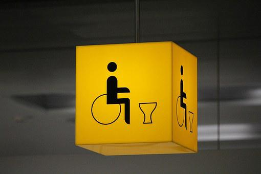 Disabled Toilet, Disability, Wheelchair