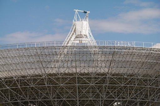 Radio Telescope, Effelsberg, Structure, Architecture