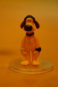 Bitzer, Shaun The Sheep, Figure, Dog, England, English
