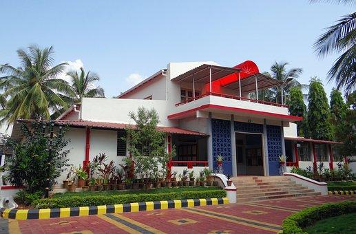 House, Building, Estate, Architecture, Guest House
