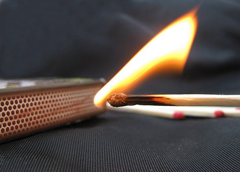 Match, Flame, Matchstick, Fire, Burning, Hot, Burn