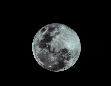 Moon, Full, Full Moon, Supermoon, Sky, Night, Lunar