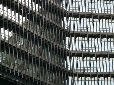 Facade, Glass, Steel, European Patent Office, Building