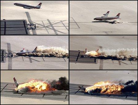 Plane Crash, Crash, Crash Landing, Impact, Accident