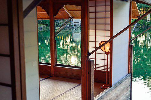 Japan, Japanese-style Room, Houses, Garden