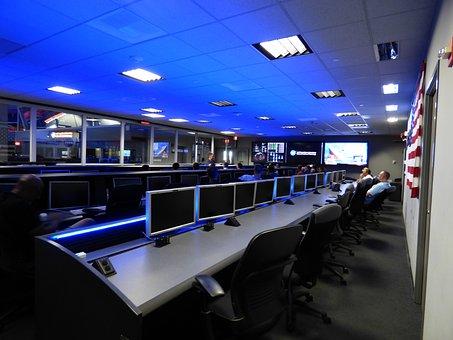 Control Center, Laboratory, Nasa, Jpl, Pasadena, Space