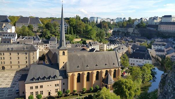 Luxembourg, Luxembourg City, Neumünster Abbey, Abbey