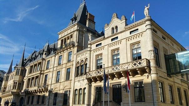 Luxembourg, Luxembourg City, Palace, Ducal Palace