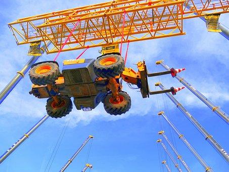 Forklift, Machine, Crane, Pallet Loading Fork, Vehicle