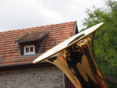 Tuba, Megaphone, Bell, Brass Instrument, Music