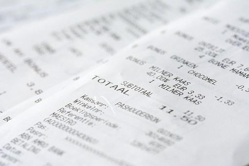 Receipt, Money, Messages, Currency, Finance, Shopping