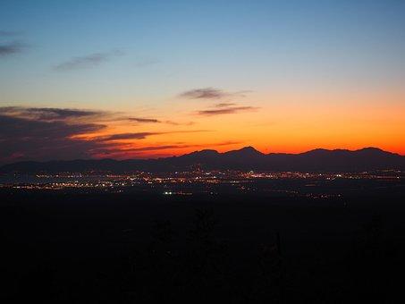 Palma, Palma De Mallorca, Lights, Sea Of Light