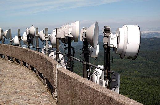 Antenna, Satellite Dish, Parabolic Mirrors