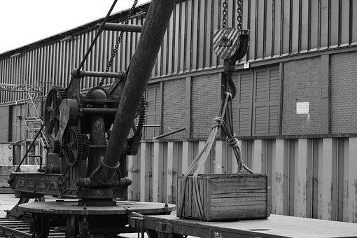 Technology, Port, Hamburg, Loading, General Cargo