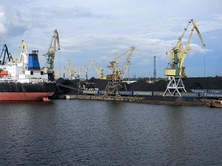 Dock, Port, Logistics, Loading, Unloading