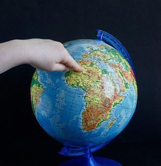 Globus, Map, Finger, Earth, Child, Search, Pointing