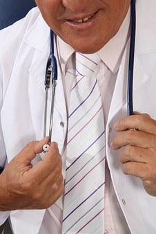 Doctor, Estestoscopio, Smock, Hospital, Injection