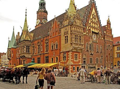 Poland, Lower Silesia, City, Municipal, The Market
