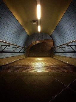 Path, Tunnel, Walk, Architecture, Light, Way, Corridor
