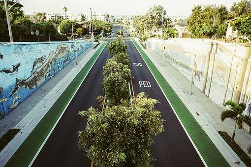 Underpass, Road, Urban, Traffic, Street, Tunnel