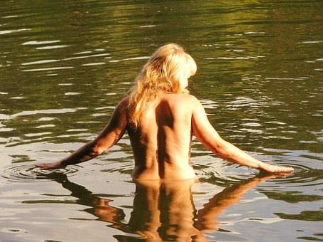 The Act Of, Girl, Woman, Water, Lake, River, Nudity, Naked