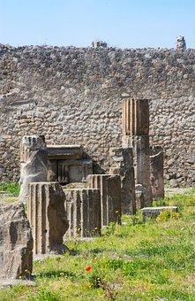 Pompeii, Pompei, Columnar, Excavation, Ancient Romans