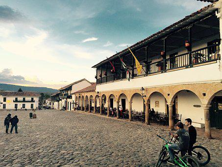 Plaza, Antigua, City, Central, Old, Architecture